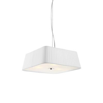 Pendelleuchte Metall / Weißes Textil   MD2192S-W