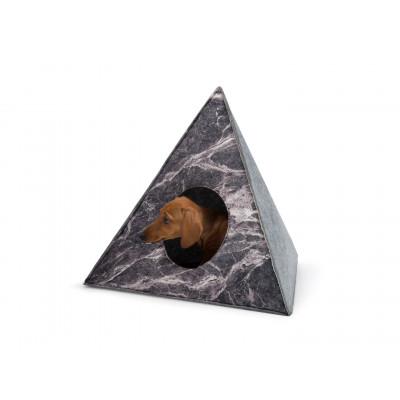 Hundebett Pyramid | Marmor
