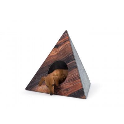 Hundebett Pyramid | Eiche