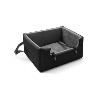 Autositz für Haustiere XL | Schwarz