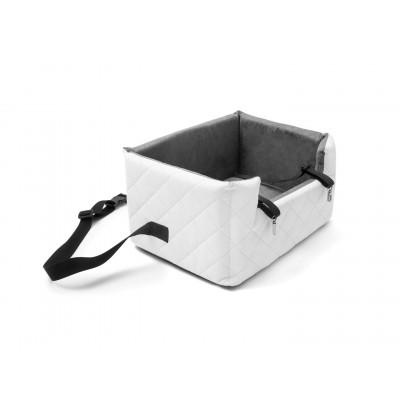 Autositz für Haustiere Medium | Weiß