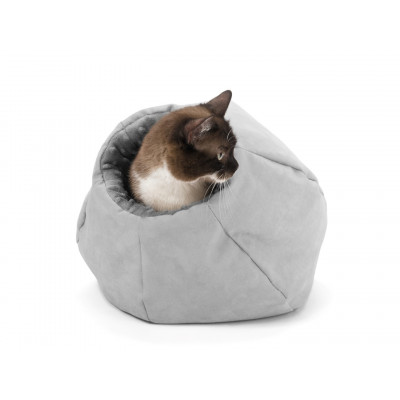 Katzenbett Hole | Grau