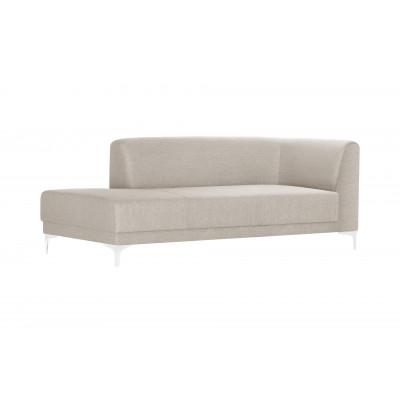 Große Lounge-Sofa Links Allegra   Creme