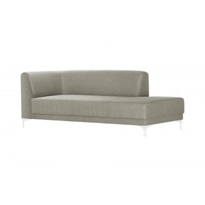 Große Lounge-Sofa Rechts Allegra   Taupe