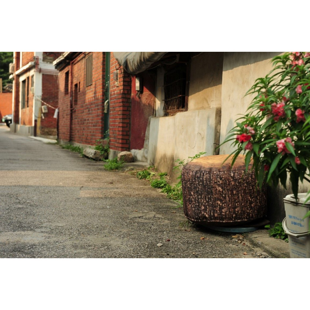 Forest Stump Pouf Outdoor