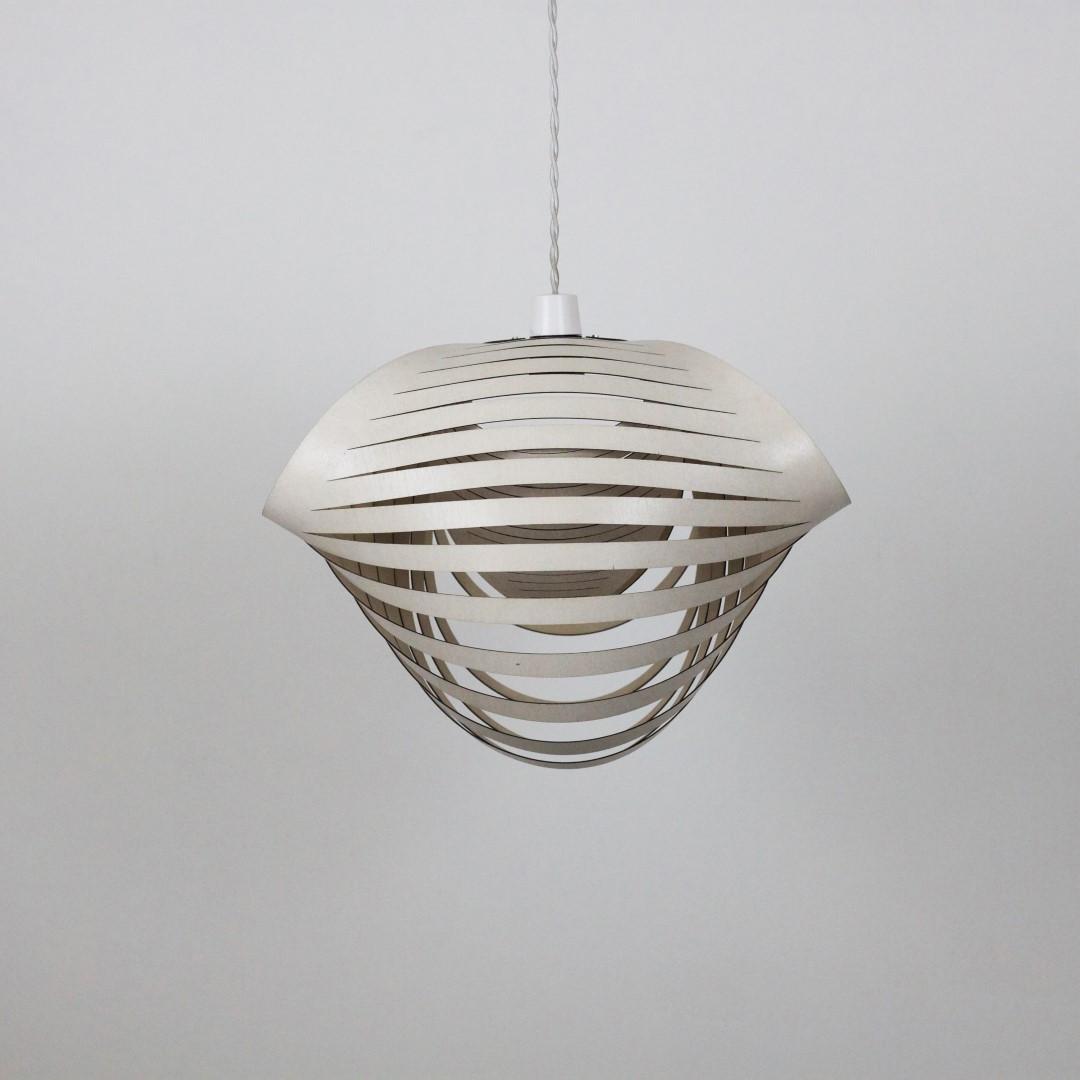Light Shade Nautica Birch Ply | White