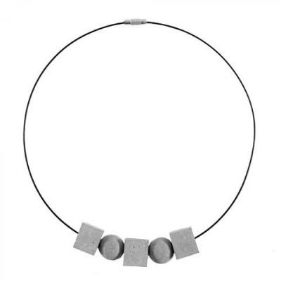Halskette BEDEUTUNGEN | Grau & Schwarz