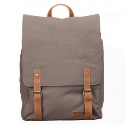 Devon Backpack   Grey & Brown