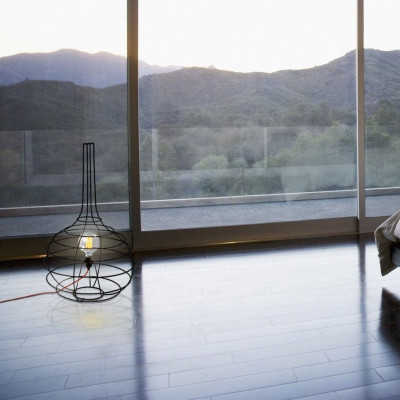 Globo | Table Lamp - Cable Red