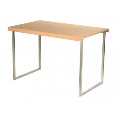 Tisch Butterfly | Natürlich / Glänzendes Chrom
