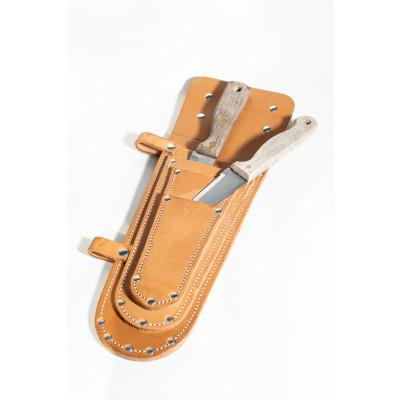 Messerhalter aus Leder