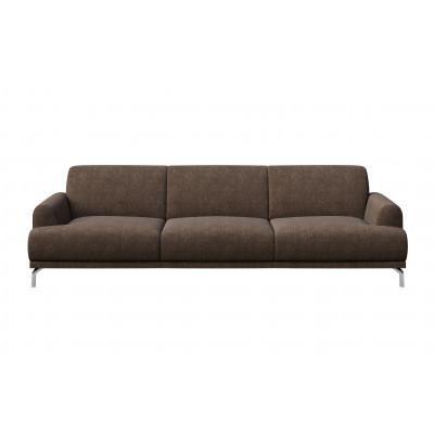 Puzo 3-Seater Sofa | Brown