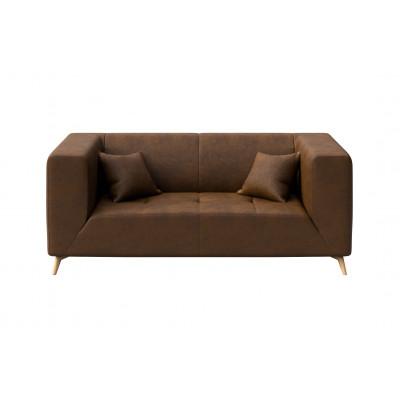 Toro 2-Seater Sofa | Brown