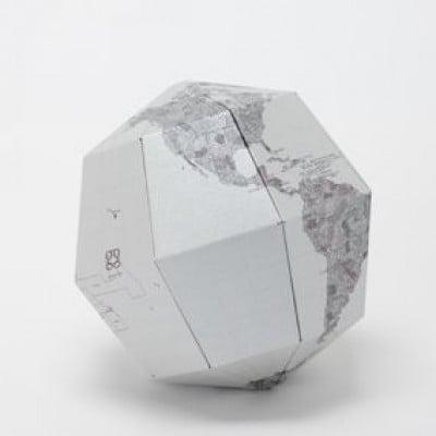 Metal Sectional Globe