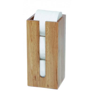 Toilet Roll Holder Mezza | Light Wood