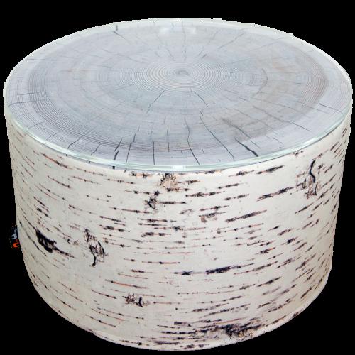 Birch Coffee Table Outdoor Dry Foam