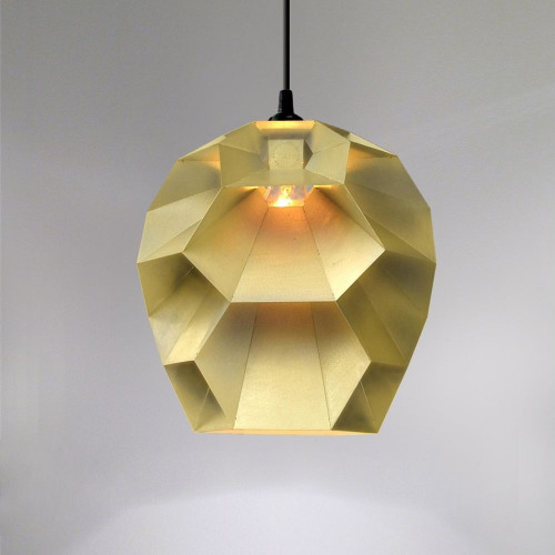 Beehive Lamp | Brushed Brass