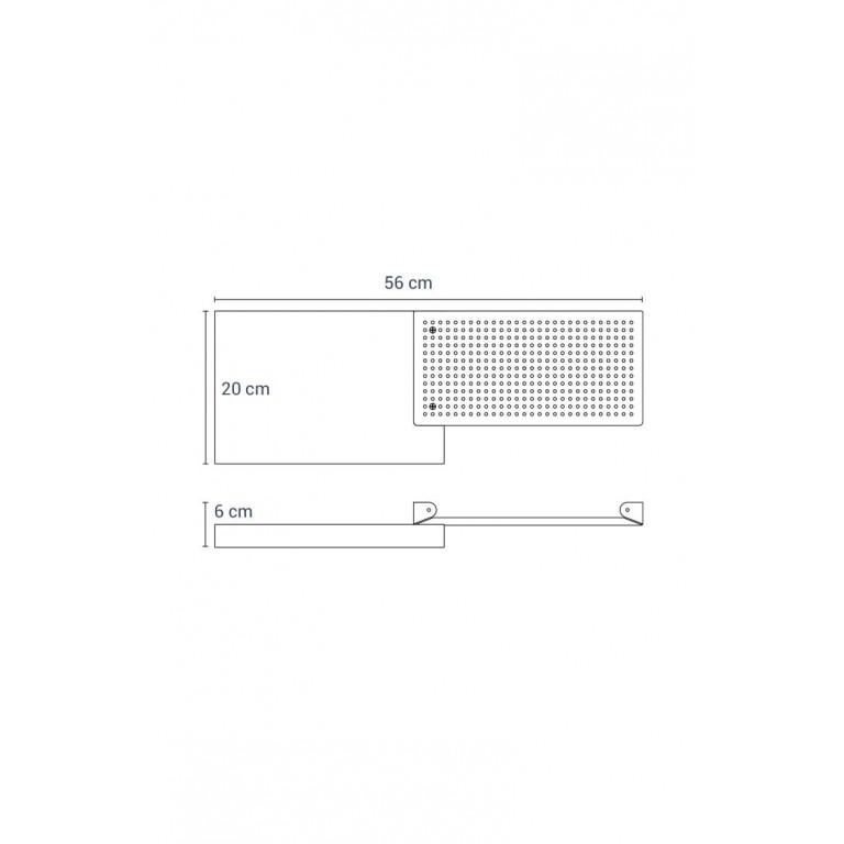 WOUPS Bookshelf | White