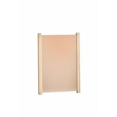 Tall Oak Inclined Diapre Copper Mirror