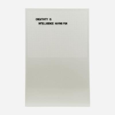 Pinnwand Grid | Grau