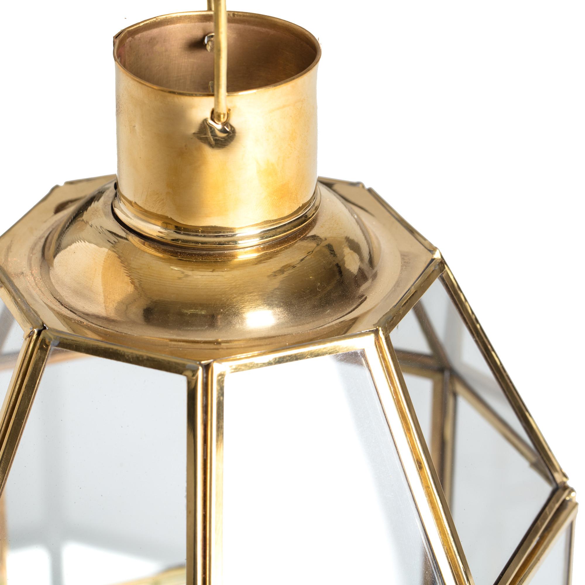 Kerzenständer Newton   Messing