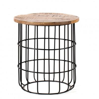 Beistelltisch Auxon Cage