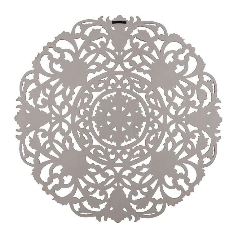 Wand-Medaillon Frasso | Grau