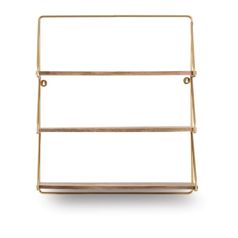 Wall Shelf Leon | Gold