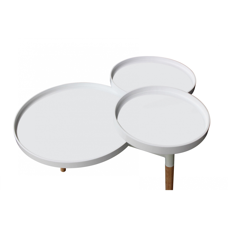 Side Table Milton 2   White