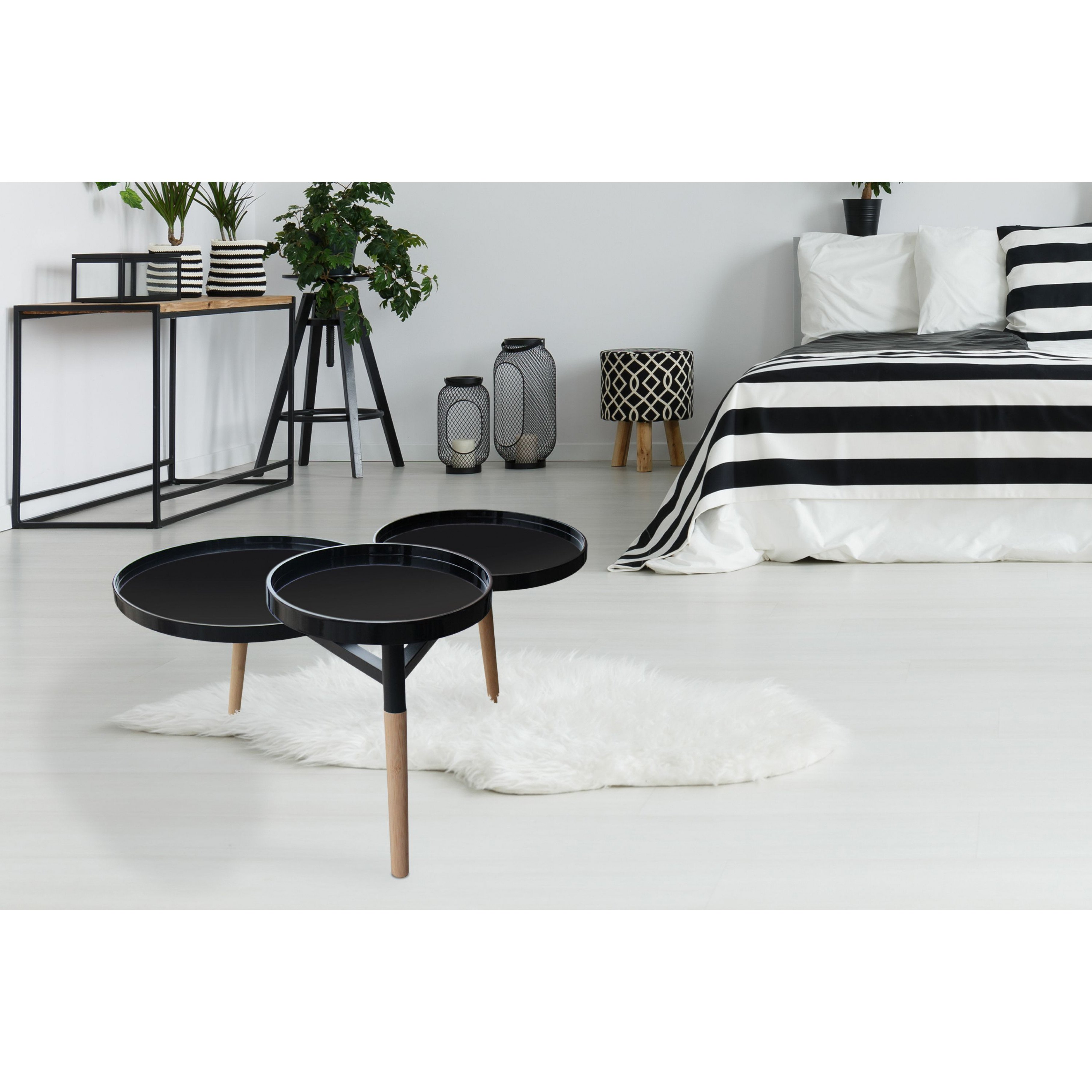 Side Table Milton 2 | Black