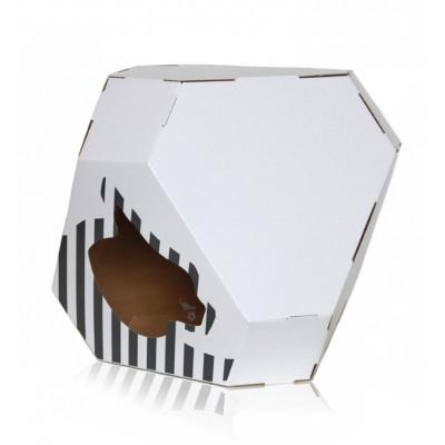 Mia Reversible Cat House + Mat