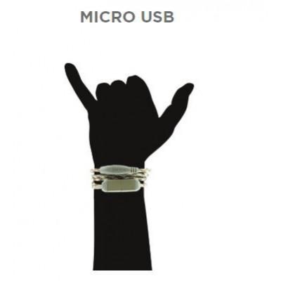 Wristband Charge Cable Micro USB   Jungle