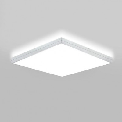 Deckenlampe Linea | Mattweiß lackiert