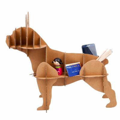 Französischer Bulldoggen-Kartonhund