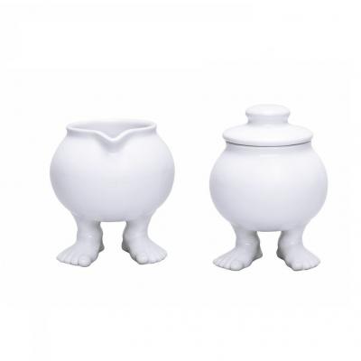 Set of Sugar bowl & Creamer