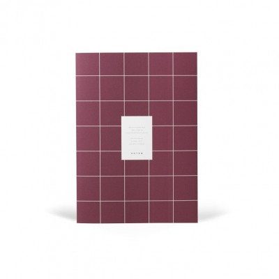 Milo Monthly Planner Book    Dark Plum