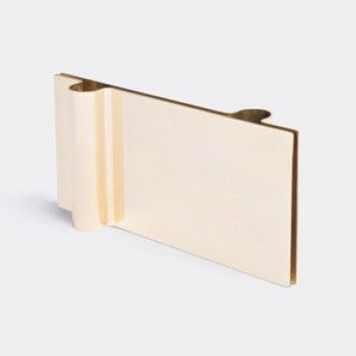 Folio Candleholder | Brass