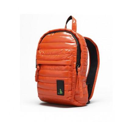 Gesteppter Mini-Rucksack Orange