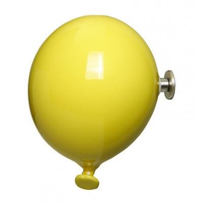 Mini-Ballon-Garderobenhaken | Gelb