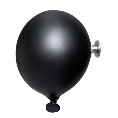 Mini-Ballon-Garderobenhaken | Schwarz