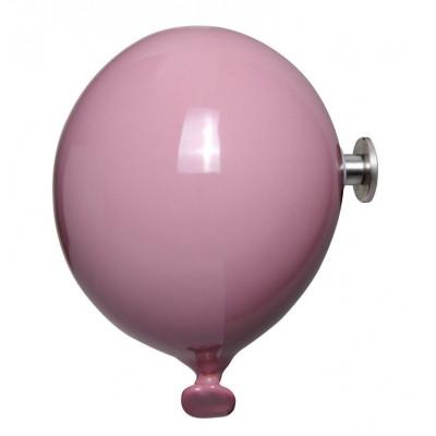 Mini-Ballon-Garderobenhaken | Rosa