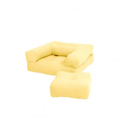 Schlafsofa Mini Cube | Gelb