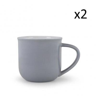 Teetasse Minima-Balance | 2er-Satz | Grau