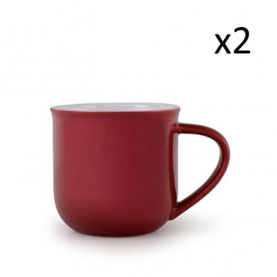 Teetasse Minima-Balance | 2er-Satz | Rot