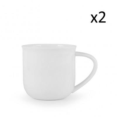 Teetasse Minima-Balance | 2er-Set | Weiß