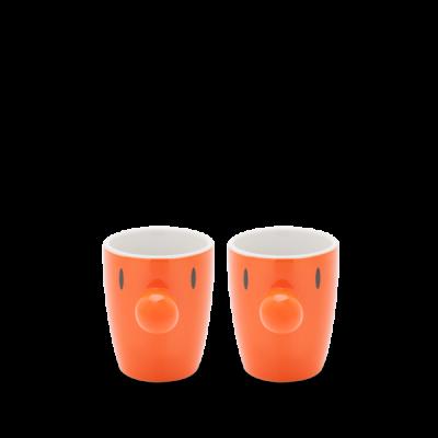 Mini-Becher Satz/2 | Orange