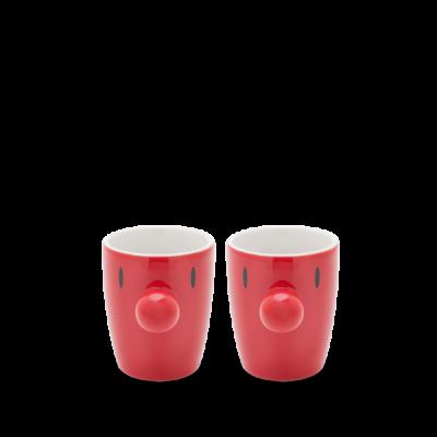 Mini-Becher Satz/2 | Rot