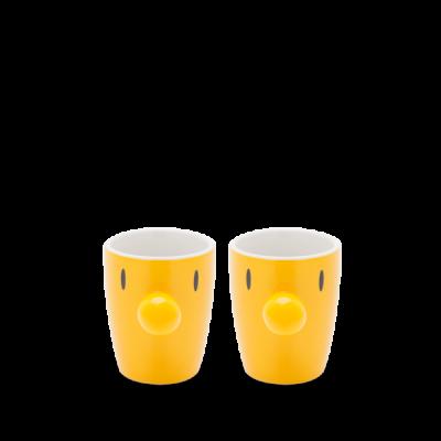 Mini-Becher Satz/2 | Gelb