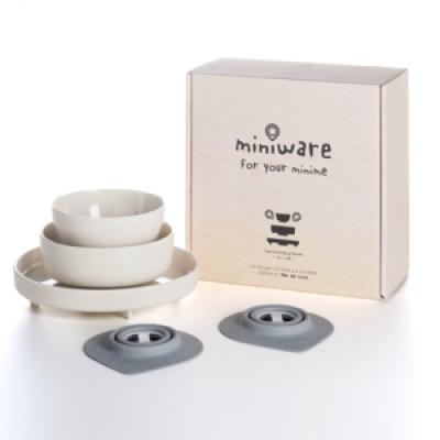 Miniware Set/5   Natural Bamboo