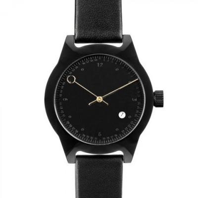 Minuteman Two Hand Watch | Black